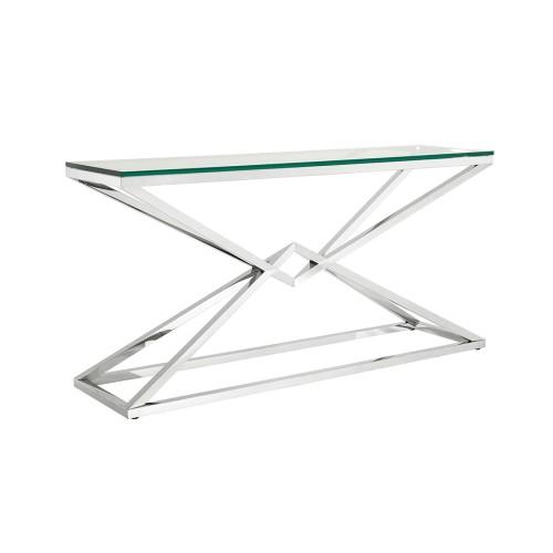 Connor Console Table - Silver