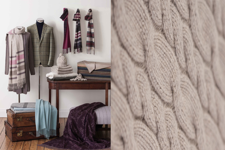 Johnstons of Elgin | Behind The Luxury Cashmere Brand | LuxDeco.com Style Guide