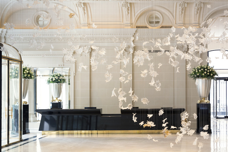 The Peninsula Paris Interiors | Luxury Hotel Interiors | LuxDeco.com Style Guide