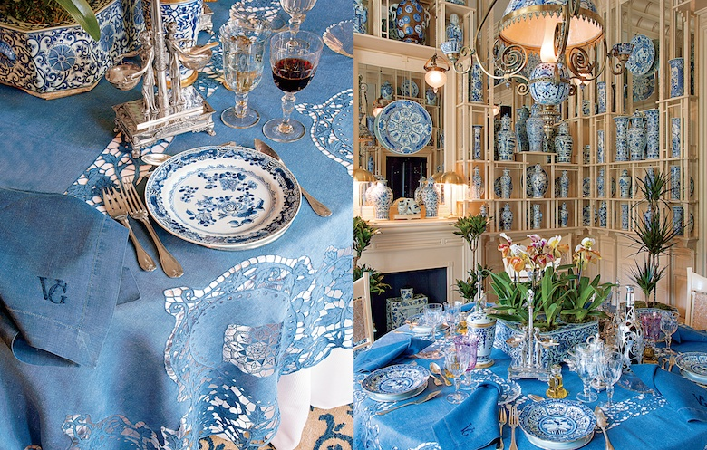 Dinner Party Inspiration from Fashion Designer Valentino | LuxDeco.com Style Guide