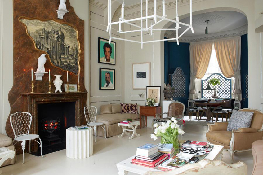 Best of British Interior Design - Top British Designers - Nicky Haslam