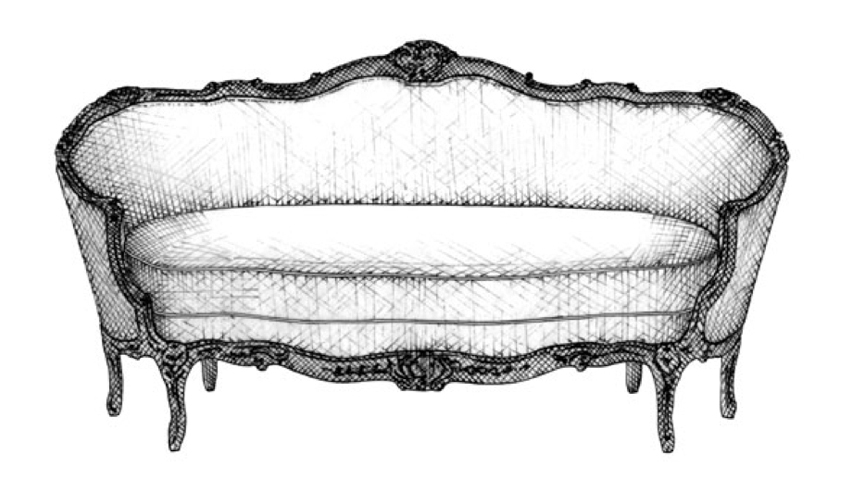 Louis XV Canape | Guide to Luxury Sofas | Luxury Sofa Design Styles | LuxDeco.com Style Guide