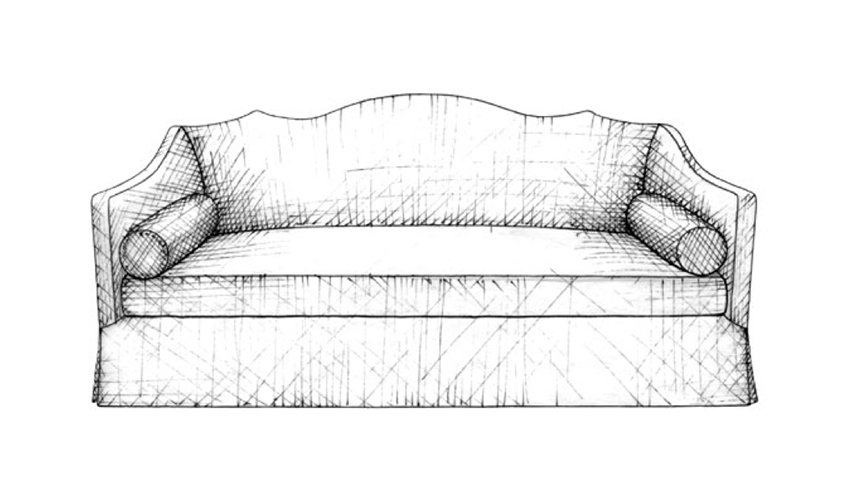Camelback Sofa | Guide to Luxury Sofas | Luxury Sofa Design Styles | LuxDeco.com Style Guide