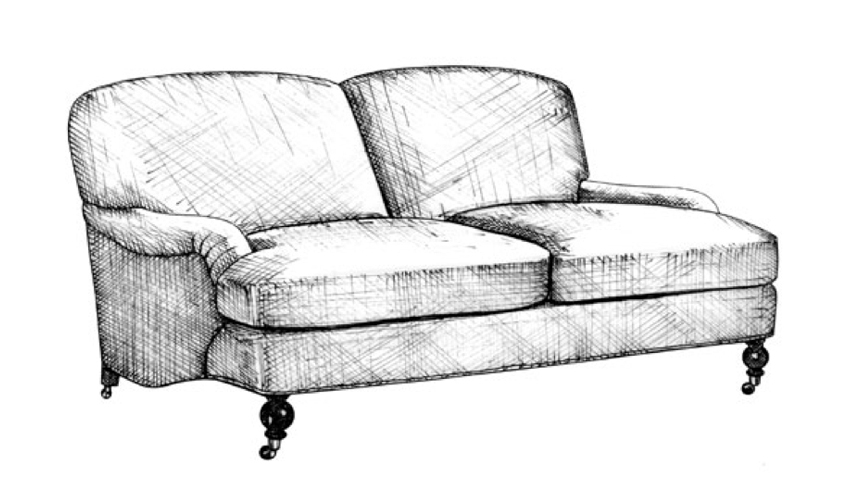 English Club Sofa | Guide to Luxury Sofas | Luxury Sofa Design Styles | LuxDeco.com Style Guide