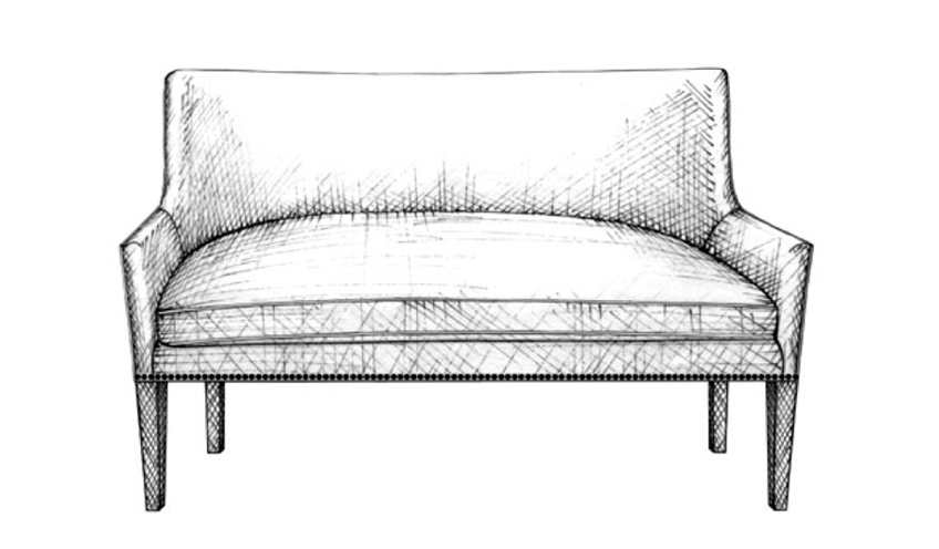 Love Seat | Guide to Luxury Sofas | Luxury Sofa Design Styles | LuxDeco.com Style Guide