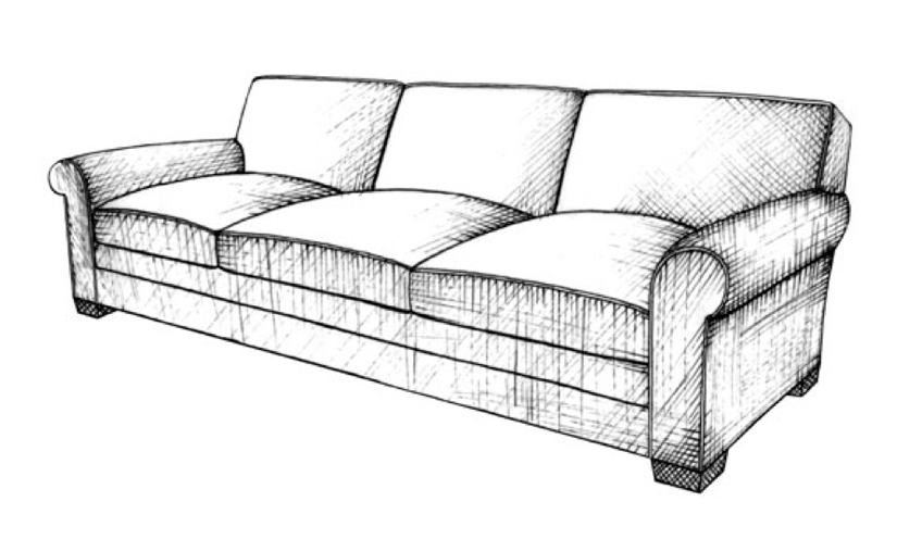 Lawson Sofa - Guide to Luxury Sofas | Luxury Sofa Design Styles | LuxDeco.com Style Guide