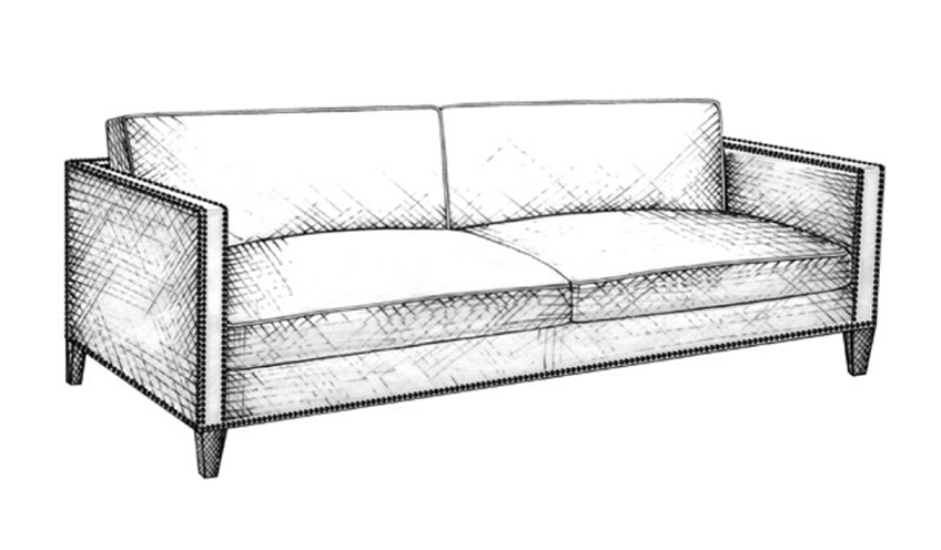 Tuxedo Sofa | Guide to Luxury Sofas | Luxury Sofa Design Styles | LuxDeco.com Style Guide