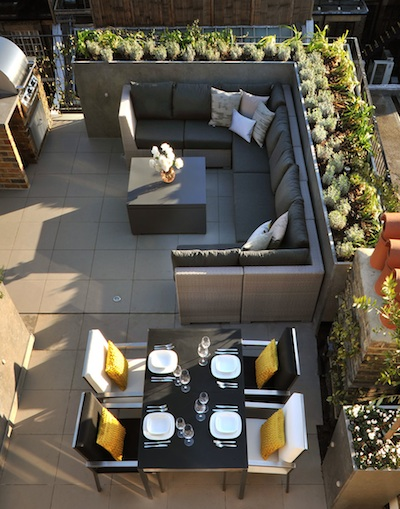 6 Stylish Rooftop Terrace Furniture & Roof Design Ideas - LuxDeco Style Guide