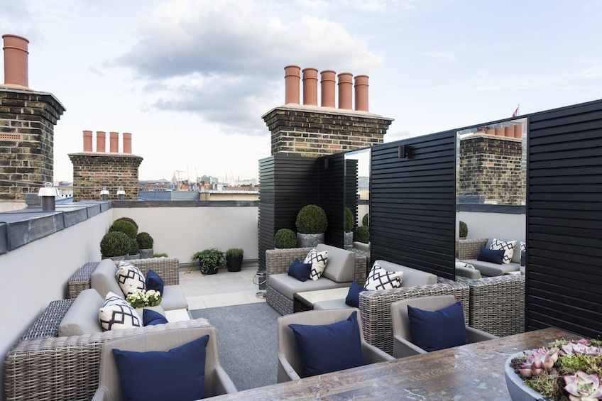 Stylish Rooftop Terrace Furniture & Roof Design Ideas - LuxDeco Style Guide