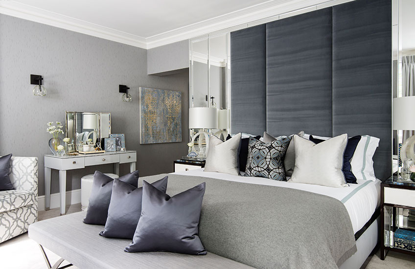 Katharine Pooley Interior Design | Blue Decorating Ideas | LuxDeco.com Style Guide
