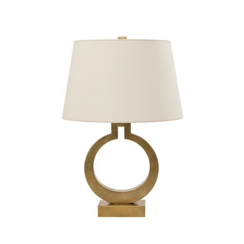 Ring Table Lamp - Brass