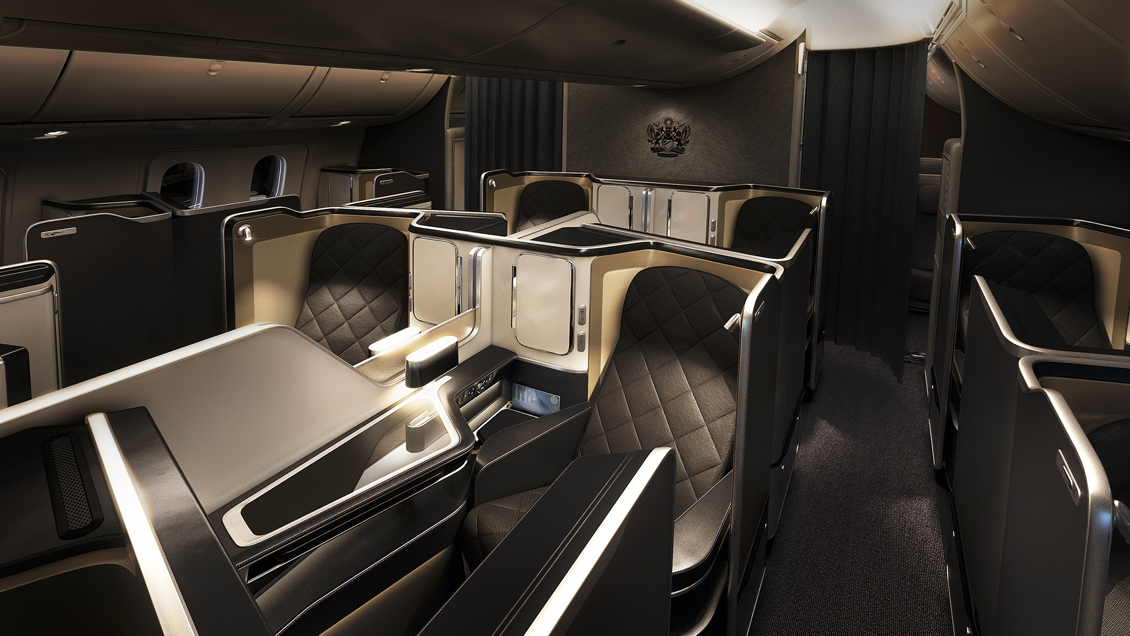 Luxury Plane Interiors: New British Airways Dreamliner | LuxDeco.com Style Guide