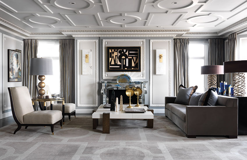 Jean-Louis Deniot, Interior Designer – Chicago living room - LuxDeco.com Style Guide