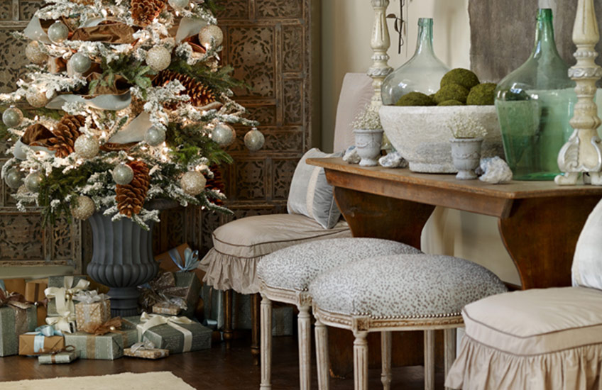 Christmas Decorating Ideas: What's Your Festive Style? Country Celebrations - LuxDeco Style Guide