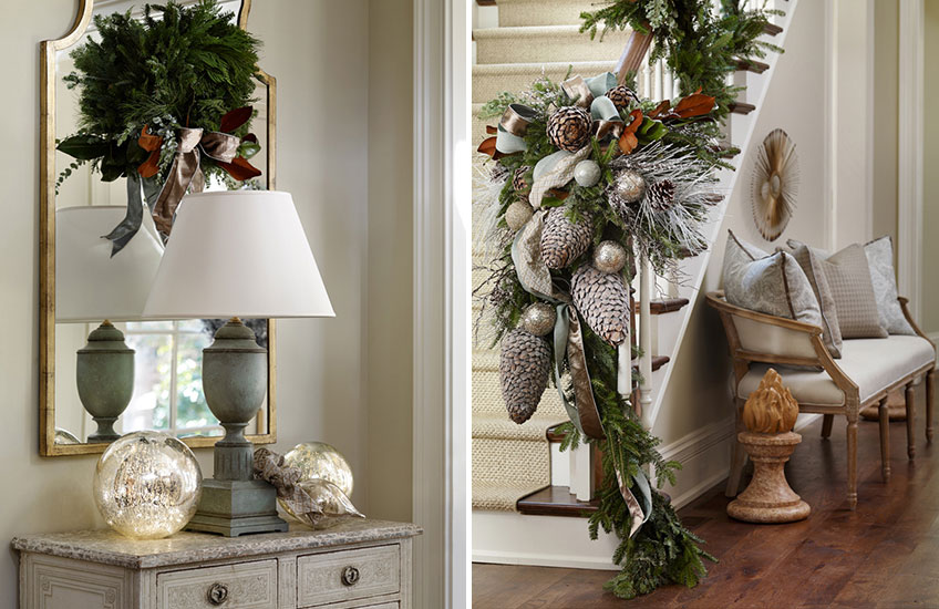 Christmas Decorating Ideas: What's Your Festive Style? - Country Celebrations - LuxDeco Style Guide