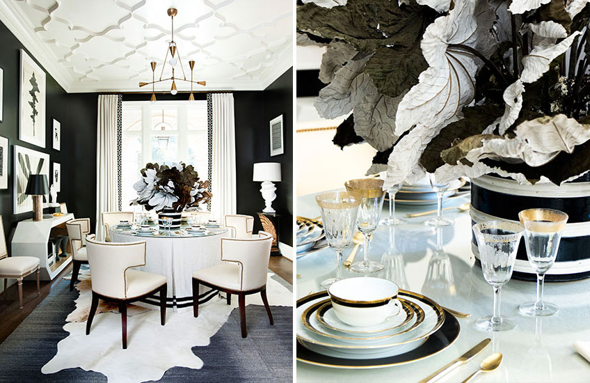 Christmas Decorating Ideas: What's Your Festive Style? - Monochrome Christmas - LuxDeco Style Guide