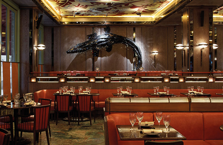 Sexy Fish – Gehry crocodile - London's Newest Luxury Restaurant Hot Spot - LuxDeco Style Guide