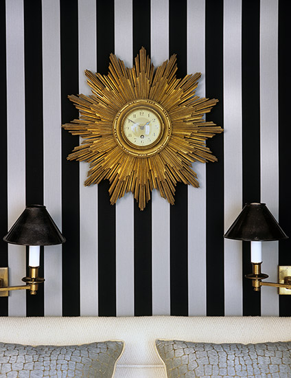 Luxury Black and Gold Interior Design - Discover more on LuxDeco Style Guide