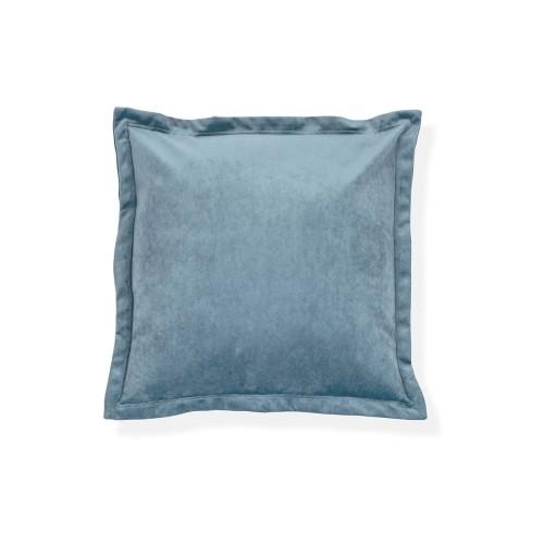 Grainger Velvet Cushion - Airforce Blue