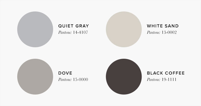 neutral Bedroom Colour swatches - Colour Schemes & Combinations – LuxDeco Style Guide