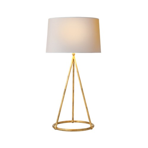 Nina Tapered Table Lamp - Gold