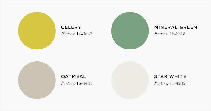 Lime and Neutral Bedroom Colour swatches - Colour Schemes & Combinations – LuxDeco Style Guide