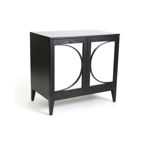 Carina Mirrored Bedside Cabinet