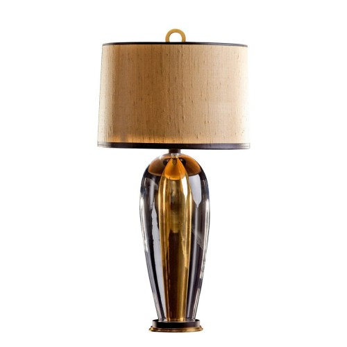 Rosendale Tall Table Lamp - Canadian Gold