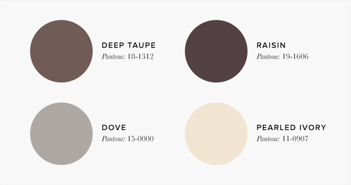 Brown Bedroom Colour swatches - Colour Schemes & Combinations – LuxDeco Style Guide