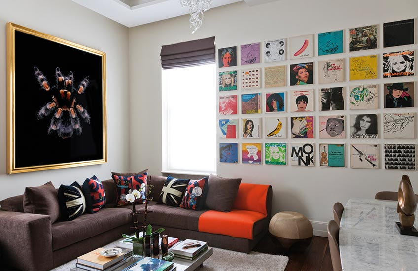 How To Master Art Framing – Image © Tara Bernerd Interior Design; copyright Guido Mocafico, courtesy of Hamiltons Gallery, Target Living – LuxDeco Style Guide