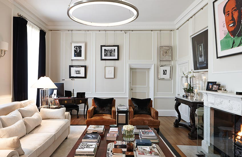 How To Master Art Framing – Image © Maurizio Pellizzoni – LuxDeco Style Guide