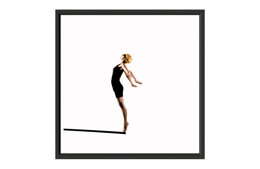 The best of: Black and White Artwork | Diver by Trowbridge | Monochrome Art | LuxDeco.com Style Guide