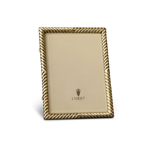Deco Twist Photo Frame - Gold