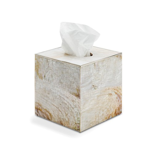 Sienna Shell Tissue Box