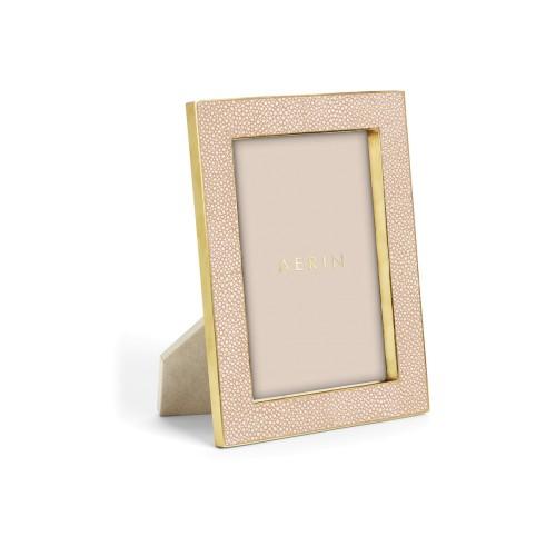 Blush Shagreen Photo Frame