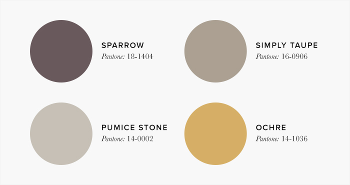 Neutral and Yellow Living Room Colour swatches - Lounge Colour Schemes & Colour Combination ideas – LuxDeco Style Guide