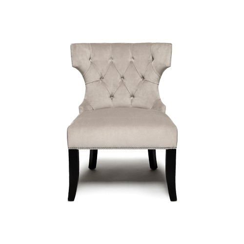 Buttoned Back Occasional Chair