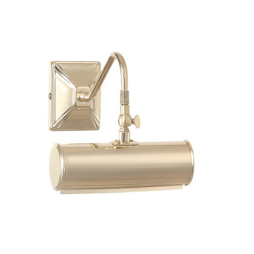 Small Polished Brass Picture Light