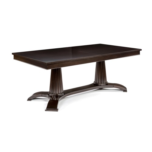 Heritage Extendable Dining Table - Wood - Antique Walnut