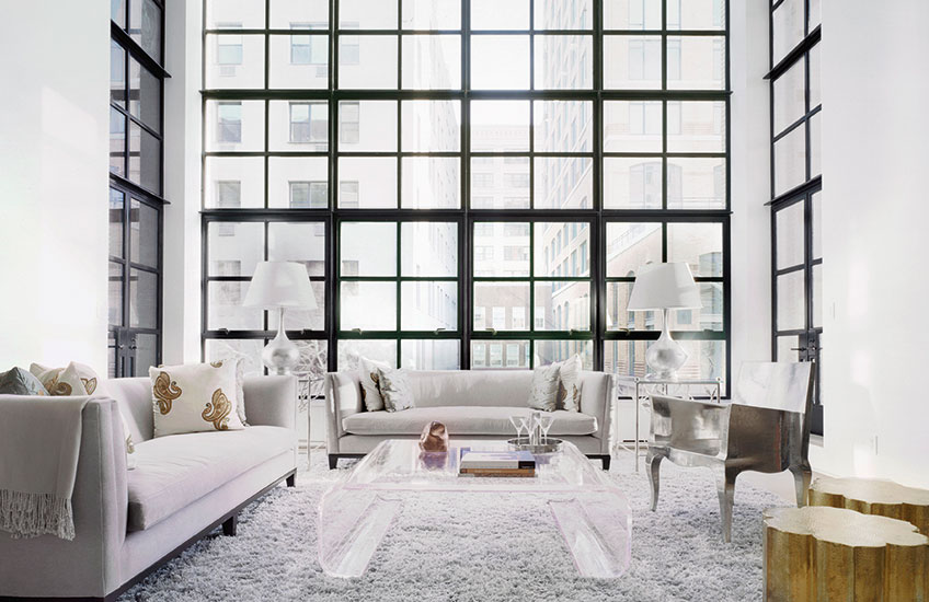 Q and A with Deborah Berke – West Village Duplex, NYC – (c) Catherine Tighe –LuxDeco.com Style Guide