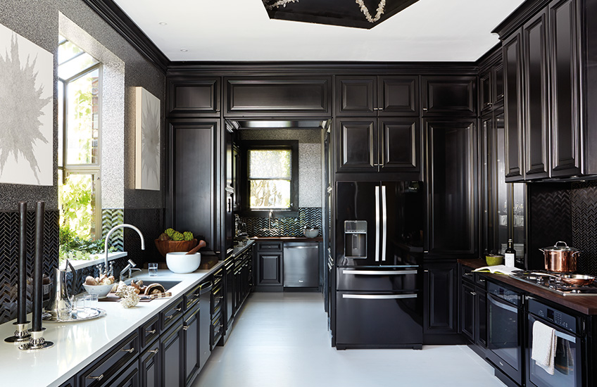 The Best of Black and White Interiors – Steven Miller – LuxDeco.com Style Guide