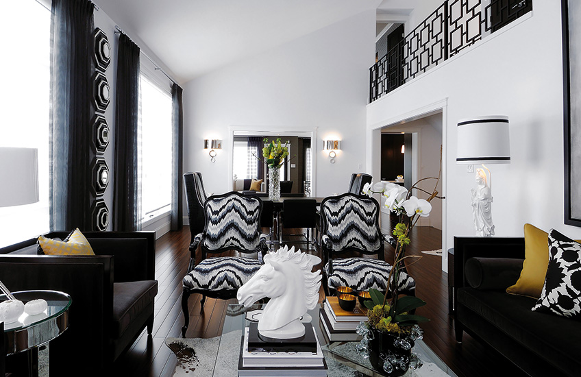 The Best of Black and White Interiors – Atmosphere ID – LuxDeco.com Style Guide