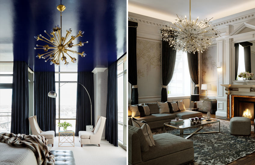 Sputnik and Urchin Lights – Tobi Fairley:Martin Kemp Design – LuxDeco.com Style Guide