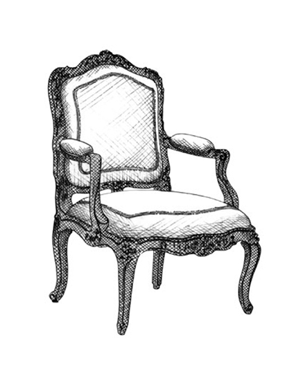 The Best of Chair Design - Top 10 Chair Styles - Louis XV fauteuil