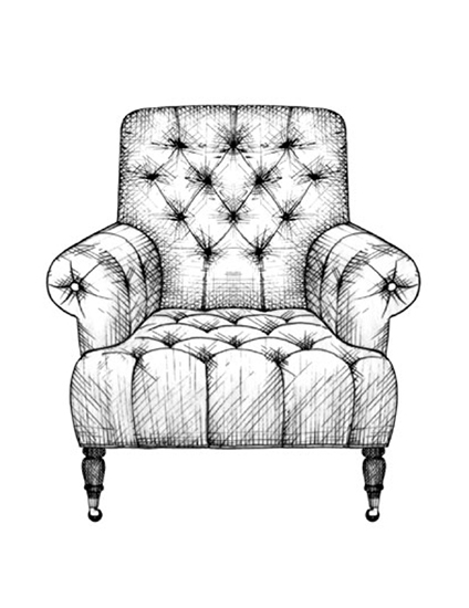 The Best of Chair Design - Top 10 Chair Styles - Chesterfield club chair