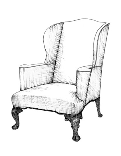 The Best of Chair Design - Top 10 Chair Styles - Wing chair