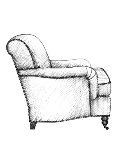 The Best of Chair Design - Top 10 Chair Styles - English roll arm chair