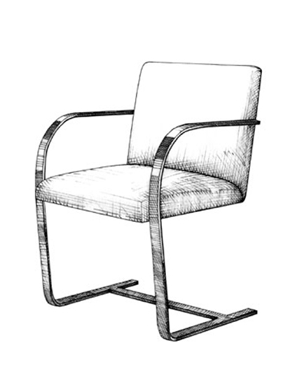 The Best of Chair Design - Top 10 Chair Styles - Cantilever chair