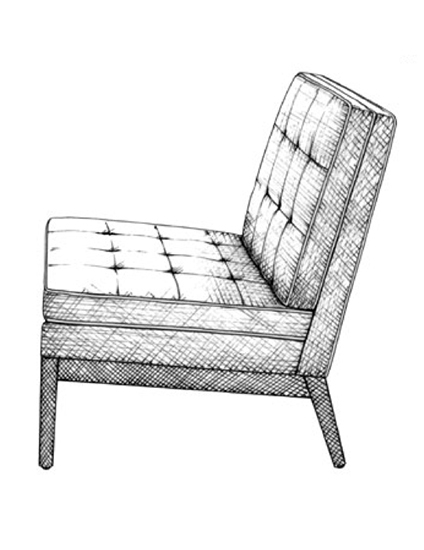 The Best of Chair Design - Top 10 Chair Styles - Knoll lounge chair