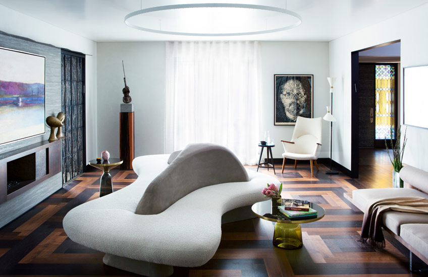 The Best of Curved Sofas – Vladimir Kagan © Nina Choi – LuxDeco.com Style Guide